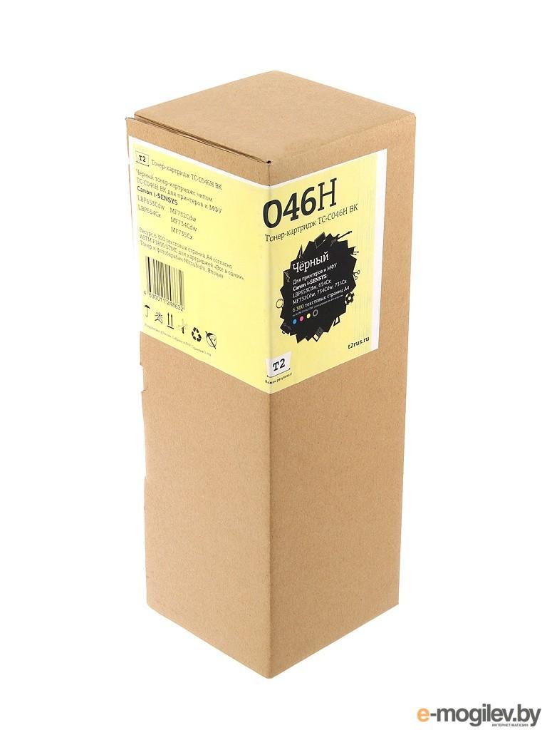 T2 TC-C046H Black для Canon i-SENSYS LBP653Cdw/654Cx/MF732Cdw/734Cdw/735Cxr