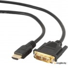HDMI Gembird Cablexpert HDMI-DVI 19M/19M 4.5m Single Link Black CC-HDMI-DVI-15