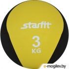 Медицинбол Starfit Pro GB-702 (3кг, желтый)