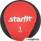 Медицинбол Starfit Pro GB-702 (1кг, красный)