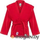 Куртка для самбо Green Hill JS-303 / р-р.6/190 красный