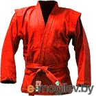 Куртка для самбо Green Hill JS-302 (р-р.6/190, красный)