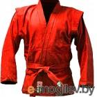 Куртка для самбо Green Hill JS-302 (р-р.1/140, красный)