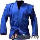 Куртка для самбо Green Hill JS-302 (р-р.00/120, синий)