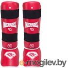 Защита голень-стопа Reyvel RV- 511 / красный M