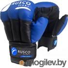 Перчатки для рукопашного боя RuscoSport синий р-р 12