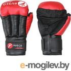 Перчатки для рукопашного боя RuscoSport красный р-р 12