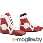 Обувь для самбо RuscoSport SM-0102 (красный, р-р 32)