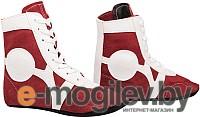 Обувь для самбо RuscoSport SM-0101 (красный, р-р 38)