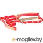 Шлея с поводком Collar 05443 красный