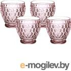 Набор стаканов Villeroy & Boch Boston coloured (4шт), розовый