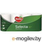 Туалетная бумага Ruta Selecta (белая, 8рул)