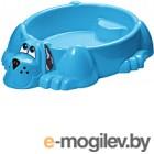 Песочница-бассейн PalPlay Собачка 373 (голубой)