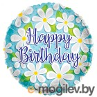 Все для праздника Шар фольгированный Conver С Днем рождения 2873167