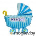 Все для праздника Шар фольгированный Flexmetal Коляска детская Blue 1552326