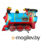 Все для праздника Шар фольгированный Flexmetal Поезд Blue 1230041