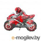 Все для праздника Шар фольгированный Flexmetal Мотоциклист Red 1230033