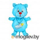 Все для праздника Шар фольгированный Flexmetal Медвежонок-мальчик 1230030