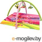 Развивающий коврик Lorelli Сказки / 10300320000 (розовый)