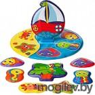 Игровой набор для ванны Playgro Морское путешествие / 0186379