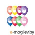 Все для праздника Набор воздушных шаров ПОИСК С Днм рождения 30cm 5шт 4690296054373
