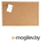 Доска WEISS, 40х60 см., пробковая,  в деревянной раме  + аксессуары.
