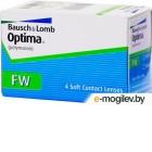 Контактные линзы Bausch  Lomb Optima FW 4 линзы / 8.7 / -4