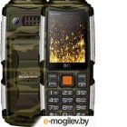 Мобильный телефон BQ Tank Power BQ-2430 (зеленый/серебристый)