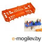 Полка для инструментов 600 мм (оранж.) (IDEA)