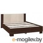 Двуспальная кровать Империал Аврора 160 венге/дуб молочный