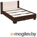 Односпальная кровать Империал 140 венге/дуб молочный
