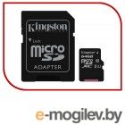 Micro SecureDigital 64Gb Kingston SDCS/64GB {MicroSDHC Class 10 UHS-I, SD adapter}