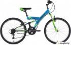 STINGER 24SFV.BANZAI.14BL8 Banzai 24 синий 125902 Велосипед Stinger 24 Banzai 14; синий; TZ30/TY21/TS-38