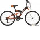 STINGER 24SFV.BANZAI.16BK8 Banzai 24 черный 125903 Велосипед Stinger 24 Banzai 16; черный; TZ30/TY21/TS-38