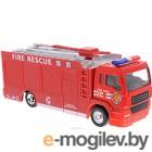 Автомобиль игрушечный Big Motors Пожарная машинка / JL81016 (инерционная)