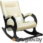Кресло-качалка Calviano Бастион 2 с подножкой (bone)
