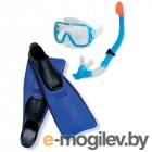 Все для плавания Набор маска  трубка  ласты Intex Wive Rider Set 55958