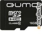 Карта памяти QUMO QM16GMICSDHC10 (microSDHC, Class 10, 16 Гб)