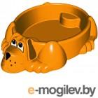 Песочница-бассейн PalPlay Собачка 373 (оранжевый)