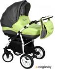 Детская универсальная коляска Aneco Hummer (темно-зеленый)