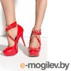 Украшение на щиколотки Me Seduce Queen of hearts Arabesque красное-OS
