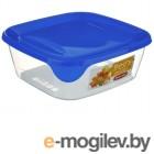 Контейнеры и емкости для хранения Контейнер Curver Fresh  Go 800ml Blue 00559-139-01