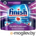 Таблетки для посудомоечных машин Finish Quantum Max (20шт)
