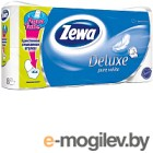 Туалетная бумага Zewa Deluxe Pure White (1x8рул)