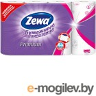 Бумажные полотенца Zewa Премиум Декор 2-слойные (1x4рул)