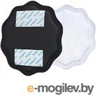 Прокладки для бюстгальтера BabyOno NATURAL NURSIN 24 шт., черные 298/02