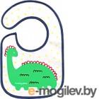Нагрудник детский BabyOno махровый с клеенкой, 3м+ новинка 831