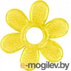 """Прорезыватель для зубов BabyOno Охлаждающий гелевый """"Цветок"""" 1060 желтый"""