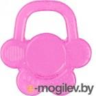 """Прорезыватель для зубов BabyOno Охлаждающий гелевый """"Цветочек"""" 1018 розовый"""