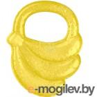 """Прорезыватель для зубов BabyOno Охлаждающий гелевый """"Банан"""" 1016 желтый"""